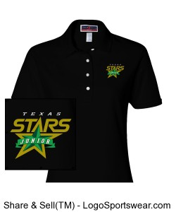 Ladies 50/50 Jersey Polo with SpotShield Design Zoom